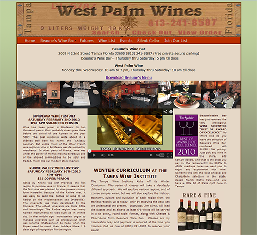 West Palm Wines company